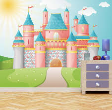 princess castle wall mural photo wallpaper kids bedroom fantasy princess castle wall mural photo wallpaper kids bedroom fantasy fairytale kingdom xx large 3000mm x 2400mm amazon co uk kitchen home