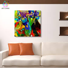Home Decor Paintings abstract artwork painting flowers from picasso home decor wall