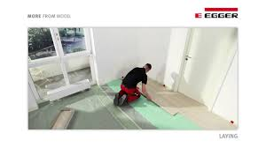 Egger Laminate Flooring Egger Laminate Flooring Installation With Unifit Youtube
