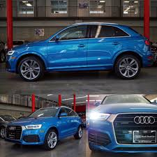 audi dealership hainan blue q3 sline quattro audi seattle audiseattle