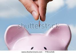 his and piggy bank saving stock images royalty free images vectors