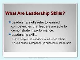 leadership skills resume examples resume samples types of resume