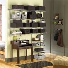 Container Store Bookcase 18 Best Elfa Shelving Living Room Images On Pinterest