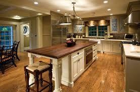 corner beige small kitchen design rustic country decor island
