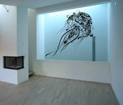 abstract jellyfish extra large vinyl wall decal 40 abstract jellyfish extra large vinyl wall decal 40