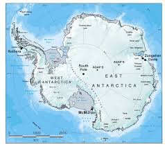 World Map With Antarctica by The Logistics Mission Project British Antarctic Survey