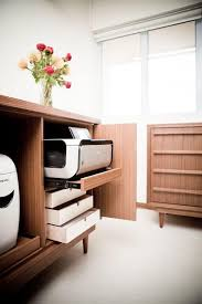 Cabinets For Office Storage Best 25 Printer Storage Ideas On Pinterest Office Shelving