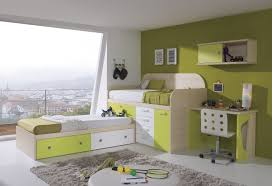 Kids Beds With Desk by Wood Bunk Bed With Desk Underneath Brown Minimalist Laminate Wood