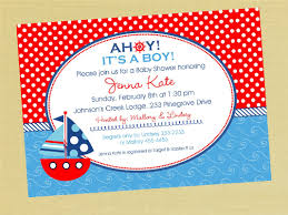 nautical baby shower invitations nautical theme baby shower invitations