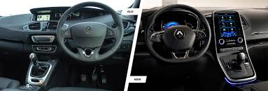 renault interior 2016 renault scenic and grand scenic old vs new carwow