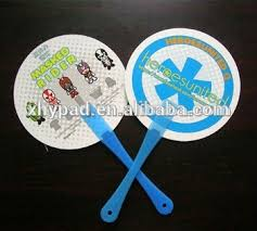 held paper fans promotion cheap plastic held paper fan buy fan
