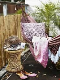 hã ngematte balkon chestha regenschutz dekor balkon