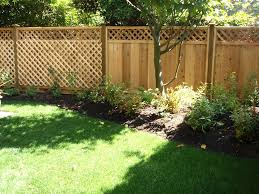 landscaping ideas for front yard fence garden enchanting backyard
