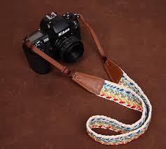 Comfortable Camera Strap Multicolor Plait New National Wind Bohemian Comfortable Camera