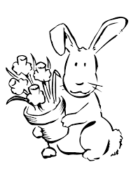 Easter Flower Coloring Pages - coloring pages easter flowers coloring page easter flowers