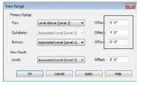 revit tutorial view range view range revit mep cad cam engineering worldwide