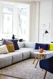 coussin canap d angle meubles design canape d angle confortable clair avec contraste de