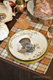 gluten free thanksgiving tablescape from design to tasty recipes