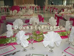center table decorations stunning pink and green wedding decorations center table