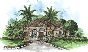 mediterranean style home plans the belle chase is a fun two story mediterranean style home plan