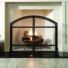 Fireplace Chain Screens - decor fireplace screen with fireplace mesh curtain screens and