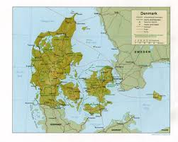 Google Map Of Europe by Maps Of Denmark Detailed Map Of Denmark In English Tourist Map