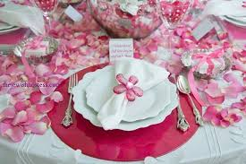 day table decorations s day party table setting at table set go in deal
