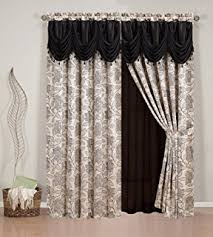 Panel Curtains Room Dividers Amazon Com 200cm X 100 Cm Butterfly Print Sheer Window Panel