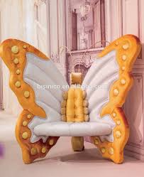 Modern Single Couch Chair New Arrival Bisini Luxury Children Bedoom Chair Kids Butterfly