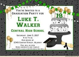 high school graduation party invitations varsity high school graduation party invitations school colors