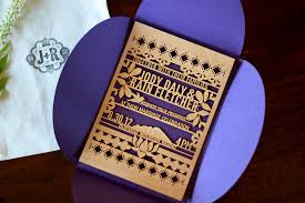 wood wedding invitations jody s eastern inspired lasercut wood wedding invitations