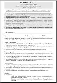 Mba Resume Examples by Mba Operations Resume Sample 2017 2018 Mba