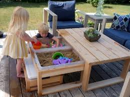 Activity Table For Kids Perfect Outdoor Activity Table For Kids And Adults
