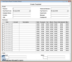 Expense Report Excel Template 5 Excel Expense Report Teknoswitch