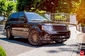 bronze range rover vossen wheels land rover range rover vossen flow formed series
