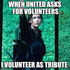 I Volunteer Meme - hunger games imgflip