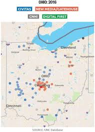 Map Of Cities In Ohio by The Emerging Threat Of News Deserts The Rise Of A New Media Baron