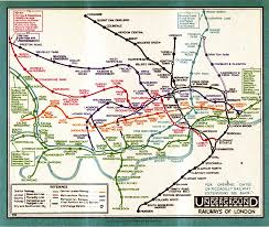 London Metro Map by Henry Charles Beck Material Culture And The London Tube Map Of