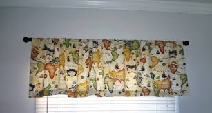 decor u0026 tips world map pattern of valances for waverly curtains