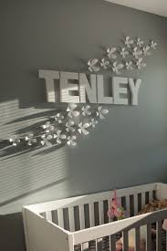 Flower Wall Decals For Nursery by Best 25 Baby Name Decorations Ideas On Pinterest Baby Name