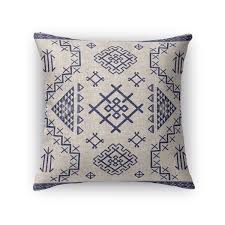 light blue accent pillows kavka designs beige blue aztec light blue accent pillow with insert