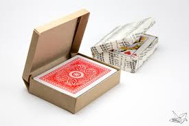 custom size hinged origami box cards box paper kawaii