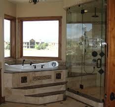 corner tub bathroom ideas master bathroom layout step into the corner whirlpool tub in the