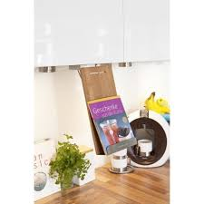 tablette cuisine cook porte livre de recette et tablette captain cook à suspendre inox