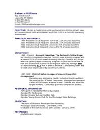 show me a exle of a resume show me resume sles the ultimate guideivecareer pertaining to