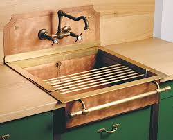 OldStyle Brass Sinks By Restart - Brass kitchen sinks