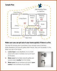 evacuation plan template sop example