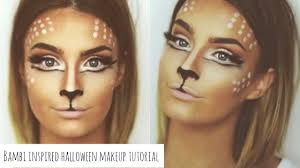 bambi inspired halloween makeup tutorial aoife conway makeup