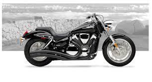 honda vtx1300c 2004 09 motorcycle exhaust hard krome