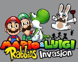 mario luigi rabbids invasion bubblekirby77 deviantart